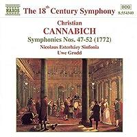 Cannabich: Symphony nos 47-52 (1772) / Grodd, Nicolaus Esterhazy Sinfonia
