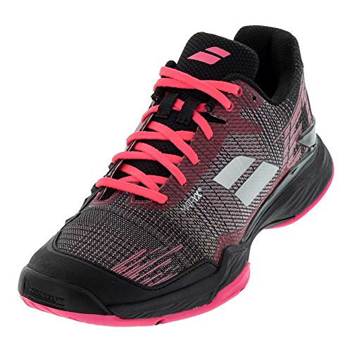 Babolat Jet Mach II Clay Sandplatzschuh Damen, Schwarz Zapatillas de Tenis, Mujer, Pink 315, 37 EU