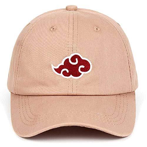 Preisvergleich Produktbild wangtao 100% Baumwolle Anime Hut Familie Stickerei Baseballkappe Schwarz Falte Zurück Hut 1