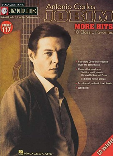 Jazz Play-Along Vol.117 Antonio Carlos Jobim + Cd