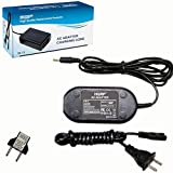 HQRP AC Adapter/Power Supply Compatible with Panasonic HC-V100 HC-V100K HC-V100M HC-V100MK HC-V700 HC-V700M HC-V700MK HC-V500 HC-V500M HC-V500MK Camcorder with USA Cord & Euro Plug Adapter