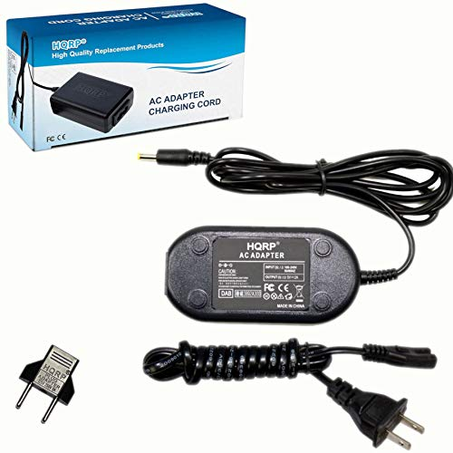 HQRP AC Adapter fits Zoom AD14 H4n Portable Recorder Q3, Q3HD, R16, H4n, H4n Pro, ARQ AR-96, AR-48, UAC-2, R16, R24 Audio Video Recorder Power Supply Cord AC Adaptor AD-14 AD-14D AD14D