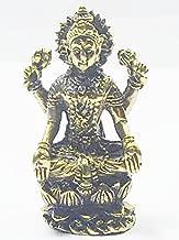 Lucky Pendants Maa Laxmi Lakshmi Hindu Deity Goddess Rich Wealth & Lucky India Thai Mini Amulet