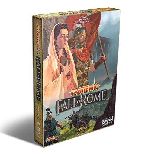 Z Man Games ZMG7124 Pandemie: Der Fall von Rom, gemischte Farben