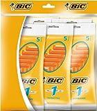 BIC Rasoir/Lame - Lot de 5 (5 Rasoirs x 5 pacquets = 25 rasoirs)