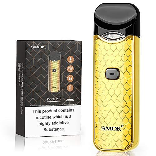 Official SMOK Nord 1100mAh 2ml E Cigarettes Vape Starter Kit, with...