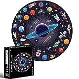 Puzle para adultos, diseño de plátano, 1000 piezas, puzle planetas en el espacio, puzle de suelo creativo, divertido en familia, juguetes educativos para niños y adultos