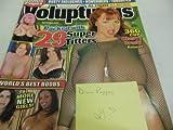 Voluptuous Men's Magazine 'Diane Poppos' 'Cherry Brandy' September 2005