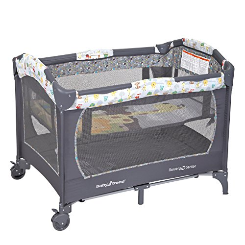 Baby Trend Nursery Center with Handy Diaper Stacker