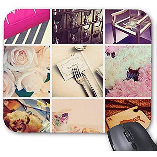 Smity muismat 30 * 25 * 0,3 cm muismat mode ontworpen muismatten maken uw eigen Instagram muismat