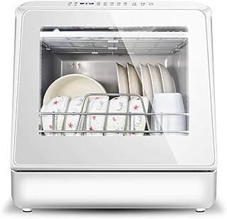 CuiCui 220V Instalación Gratuita Lavavajillas Escritorio para El Hogar Completamente Automático Pequeño Smart Mini Lavavajillas Desinfección Armario