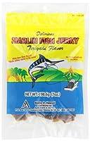【海外直送品】 〈2袋〉ハワイ産 ハワイアン マーリン フィッシュジャーキー 照り焼き味 (198グラム) Hawaiian Marlin Fish Jerky Teriyaki Flavor From Hawaii (7oz)