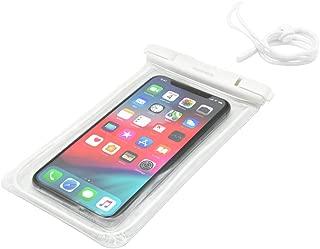 オウルテック スマホ/iPhone対応 ネックストラップ付防水ケース (ホワイト) OWL-WPCSP11-WH