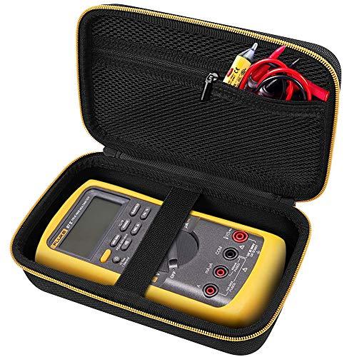 COMECASE Hard Carrying Case forFluke 87-V Digital Multimeter, Protective Travel Storage Bag.
