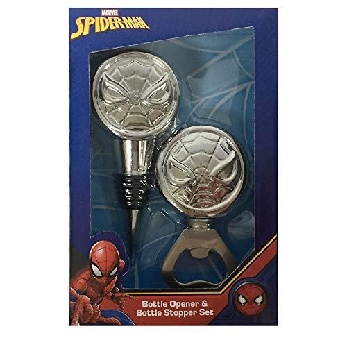 Marvel Spiderman Wine Stopper and Bottle Opener