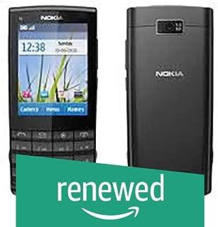 (Renewed) Nokia X3-02 (Dark Grey)