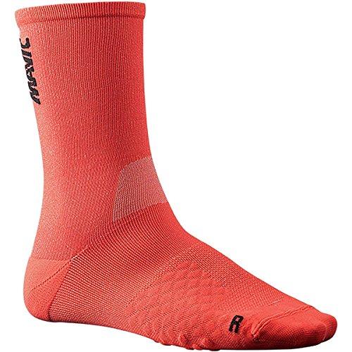 MAVIC Comete Fahrrad Socken rot/schwarz 2020: Größe: 43-46