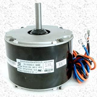 OEM Upgraded Intertherm Nordyne Miller 1/5 HP 230v Condenser Fan Motor 622080