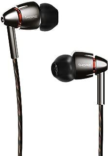 1MORE Quad Driver in-Ear Earphones Hi-Res High Fidelity Headphones Warm Bass, Spacious..