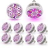 UNIVIEW 5Pcs / Lot LED Pflanzenwuchslicht E27 AC85-265V 120W Full Spectrum Phyto-Lampe for Zimmerpflanzen Blumen Blooming Samen wachsen Licht