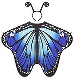 Seawhisper Schmetterling Kostüm Damen Flügel Schmetterlingsflügel Schmetterlingskostüm...