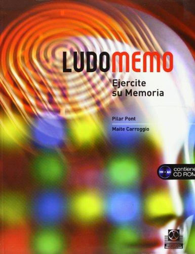 Ludomemo. Ejercite su memoria -Libro+CD- (Color) (Tercera Edad)