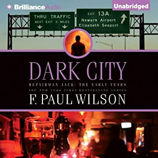 Dark City audiobook cover art