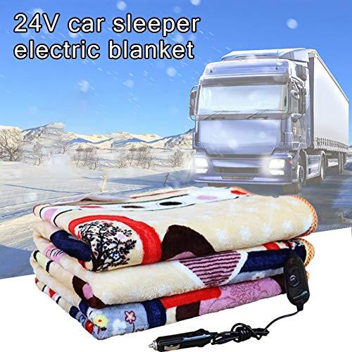 libelyef Kuschelheizdecke Auto Heizdecke Automotive Electric Blankets Beheizbare Bequeme Reise Auto Decke Wärmebett Wärmedecke Werden Im Auto Aufgeladen