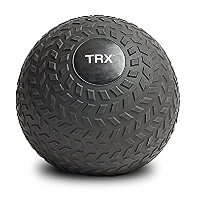TRX Training Slam Ball, Easy-Grip Tread & Durable Rubber Shell, 10lbs