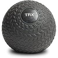 TRX Durable Rubber Shell Training Slam Ball and Easy- Grip Tread (Black)