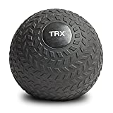 TRX Training Slam Ball, Easy-Grip Tread & Durable Rubber Shell, 25lbs