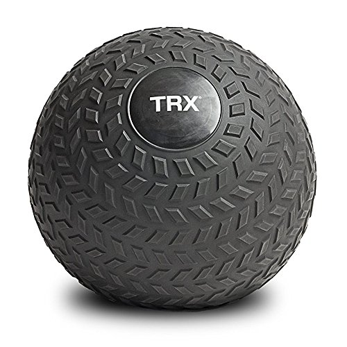 TRX Training Slam Ball, Easy-Grip Tread & Durable Rubber Shell, 6lbs