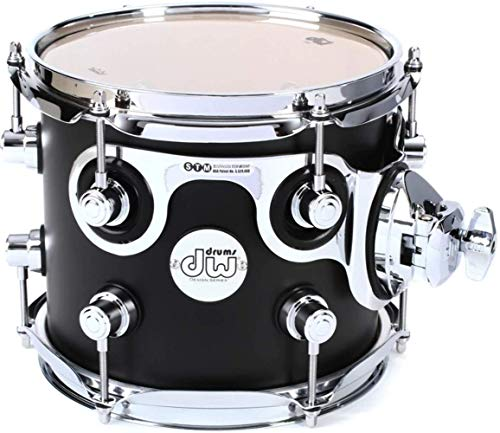 DW Design Series Rack Tom - 8 Inches - Satin Black