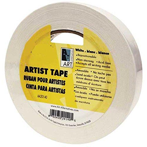 Economy White Artist Tape 1.5In X 60Yds