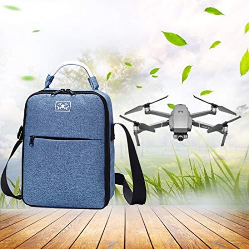 Caja de la Caja de portadura de la cámara HH para dji Mavic 2 Pro/Zoom y Accesorios, Almacenamiento de Hombros Impermeable a Prueba de Golpes (Azul) Sunshine20 (Color : Blue)