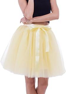 81c82469f Amazon.es: Amarillo - Faldas / Mujer: Ropa