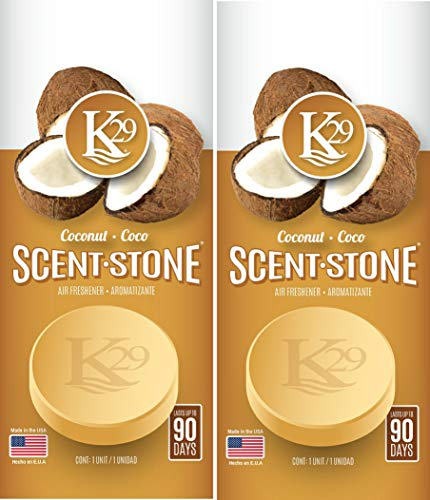 K29 Scents Coconut Scent Stone (2Pack)