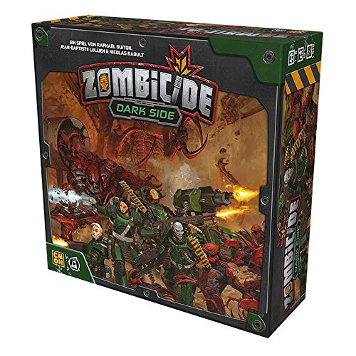 Asmodee CMON CMND1213 Zombicide: Invader - Dark Side Basic Game, Expert Game, German