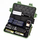 Leegor Bright Light Flashlight Set, 5 Modes G700 X800 LED Zoom Military Grade Tactical Flashlight Battery, Waterproof Portable Variable Focus Non-Thermal Radiation