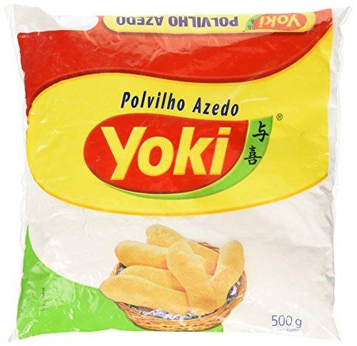 Polvilho Azedo, YOKI, farine de manioc, aigre, sachet 500 g