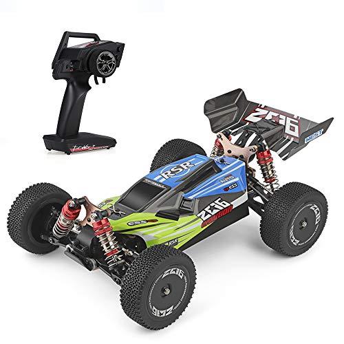 Kedelak Wltoys XKS 144001 RC Auto 60 km / h Hochgeschwindigkeits-Geländewagen RTR mit 2,4 GHz-Buggy und Allradantrieb