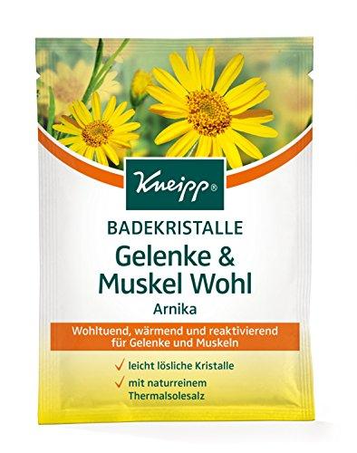 Kneipp Badekristalle Gelenke & Muskel Wohl, 6er Pack (6 x 60 g)