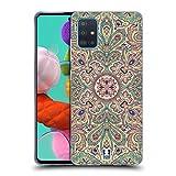 Head Hülle Designs Blass Komplex Paisley Soft Gel Handyhülle Hülle Huelle & Passende Designer Hintergr&bilder kompatibel mit Samsung Galaxy A51 (2019)