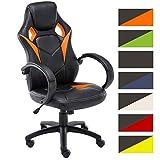 CLP Fauteuil de Bureau Magnus - Chaise de Bureau Réglable en Hauteur Design Gamer I...