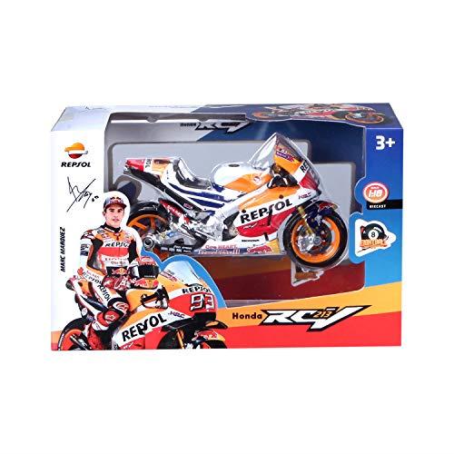 Maisto-Moto Honda Repsol Team RC213V del piloto Marc Marquez 34595 (34594)