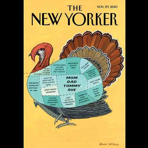 The New Yorker, November 29th 2010 (Lauren Collins, James Wood, George Packer) audiobook cover art