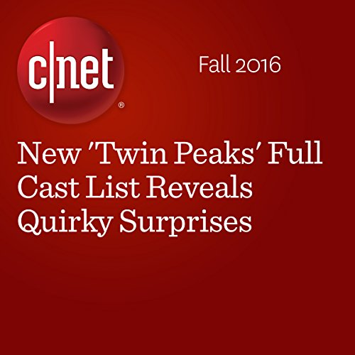 New 'Twin Peaks' Full Cast List Reveals Quirky Surprises audiobook cover art
