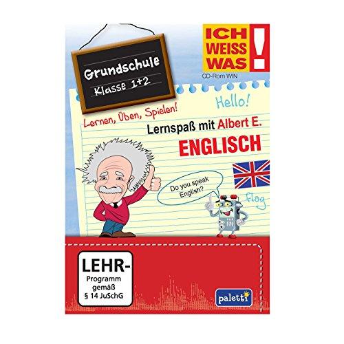 Albert E. ICH WEISS WAS! Lernspaß Grundschule Englisch Klasse 1 + 2 CD ROM