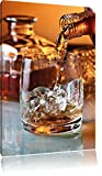 Edler Whiskey , Format: 60x80 auf hochkantiges Leinwand,