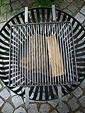 KUHEIGA Grillrost für unsere Feuerkörbe, Feuerschale, Feuerkorb
